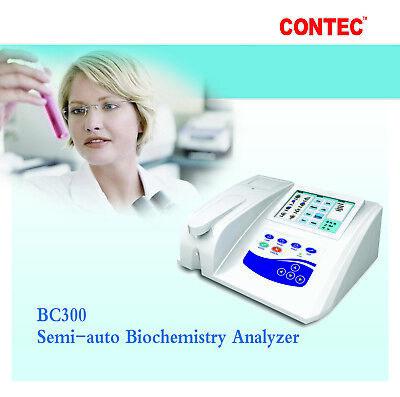 Contec Bc300 Semi-auto Biochemistry Analyzer With Open Reagent Printer Lamp