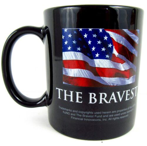 U.S. Postal Service USPS The Bravest Coffee Tea Cup Mug 2001 9/11 Heroes USA  B