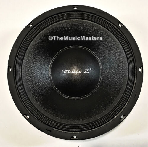 "1X Single 12"" inch 8 ohm WOOFER Bass Speaker Studio Home Cabinet Sub Replacement"