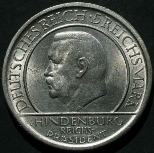Germany 5 Reichsmark 1929 A - Weimar Constitution (Verfassung) - BU