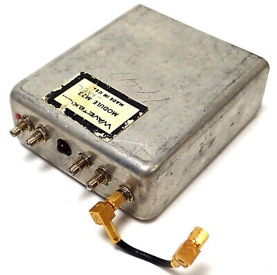 Wavetek Sweep Module M33 For Wavetek 3000 Signal Generator