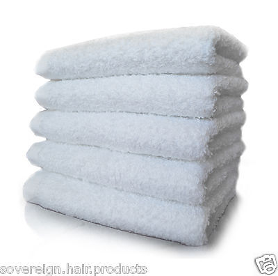 BEAUTY SALON TREATMENT TOWELS 100% PURE COTTON. ALSO IDEAL FOR HOT TOWEL SHAVING