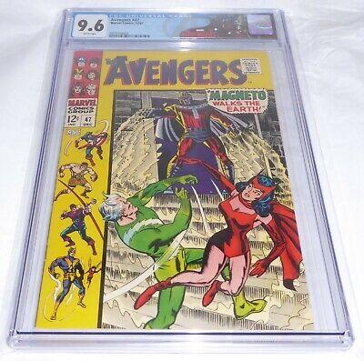 Avengers #47 CGC Universal Grade Comic 9.6 1st Dane Whitman Black Knight Magneto
