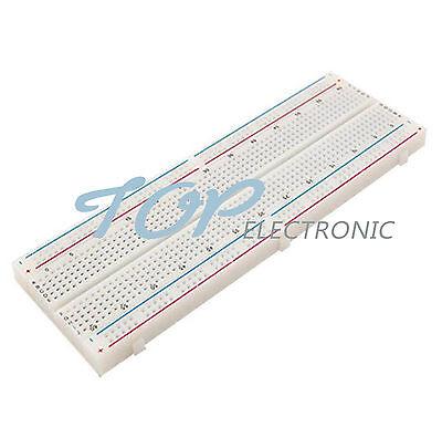 12510 Mb102 Point Solderless Pcb Bread Board Test Develop Breadboard 830 Diy
