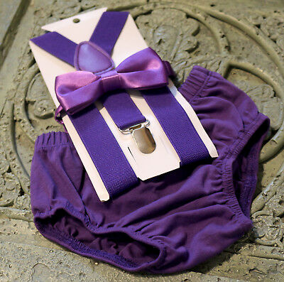 1st Birthday boy cake smash bow tie bloomers suspenders outfit purple Halloween](1st Birthday Halloween Cake)