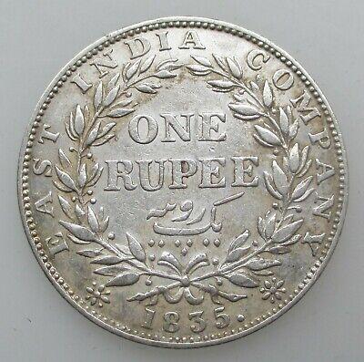 British India 1 Rupee 1835 William IV East India Company