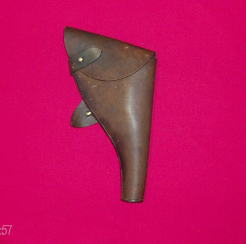 Holster, leather, dated