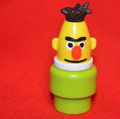 VINTAGE FISHER PRICE SESAME STREET LITTLE PEOPLE BERT CLUBHOUSE #937 #938
