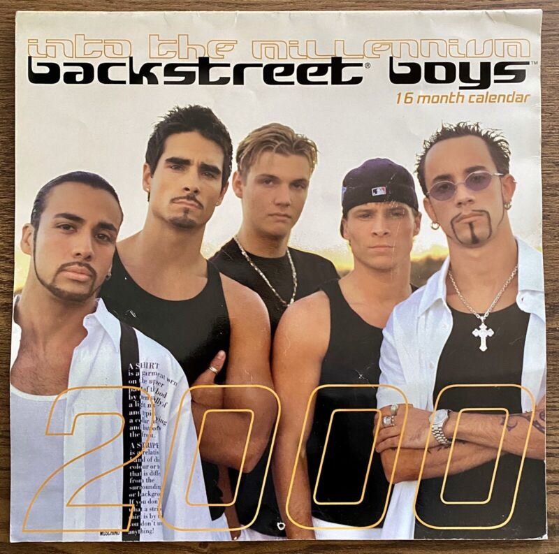 Backstreet Boys ~ Into The Millennium 2000 Calendar