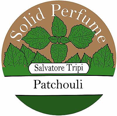 Patchouli Solid Perfume (Patchouli Natural Solid Perfume 10g Salvatore Tripi Italian Recipe )