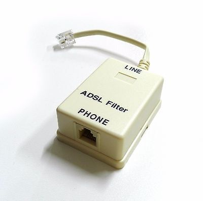 Filtro ADSL RJ11 Adaptador Teléfono Línea Teléfono Rj Módem