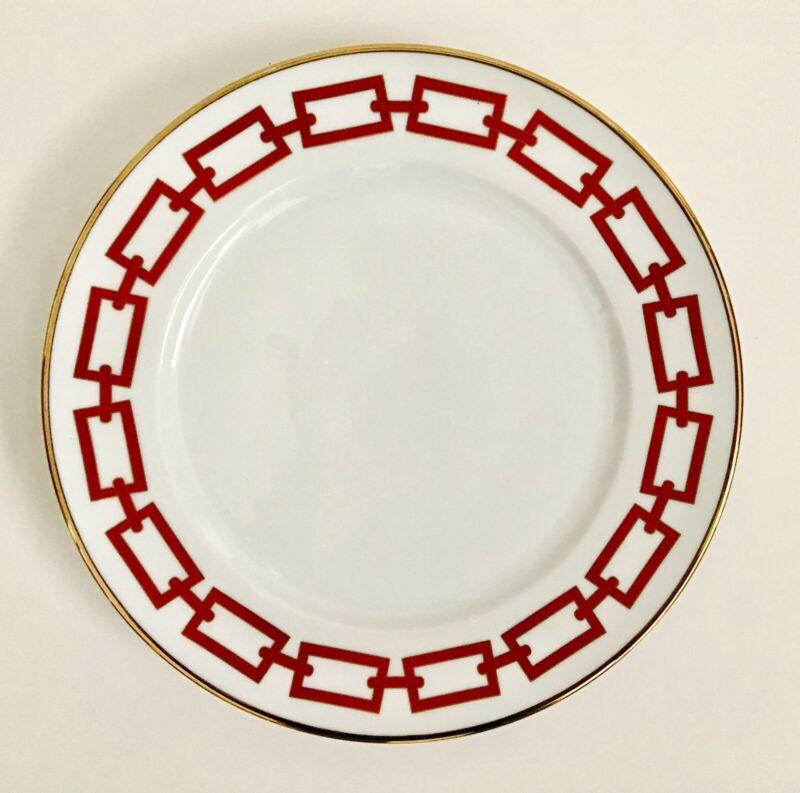 Richard Ginori Catene Scarlet Dinner Plate New