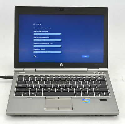 HP EliteBook 2570P Dual Core i7 2.90GHz Laptop 500GB 8GB Windows 10 RJ334 A1