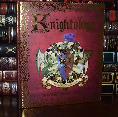 Knightology by Steer Most Valiant Knights Illustrated New Large Hardcover Gift