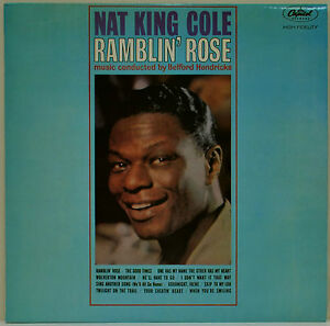 Nat-King-Cole-Ramblin-Rose-1962-Vinyl-LP-Record-EXCELLENT-CONDITION