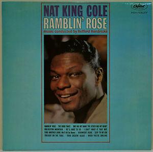 Nat-King-Cole-Ramblin-Rose-1962-Vinyl-LP-Record-EXCELLENT-CONDITION