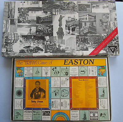 2 VTG EASTON PA TRIVIA BOARD GAMES Easton PLUS Best Of Easton LOCAL Advertising - Best Trivia Board Games