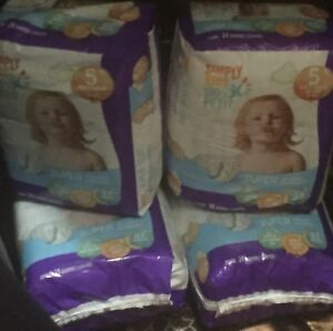 Simply kids diapers size 5- 24 diapers