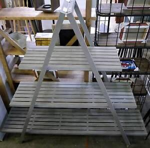New Grey Rustic Timber A Frame Display Shelving Bookcase Shelf Melbourne CBD Melbourne City Preview