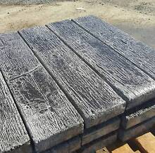 natural coloured concrete railway sleepers 1200mm x 200mm Darra Brisbane South West Preview