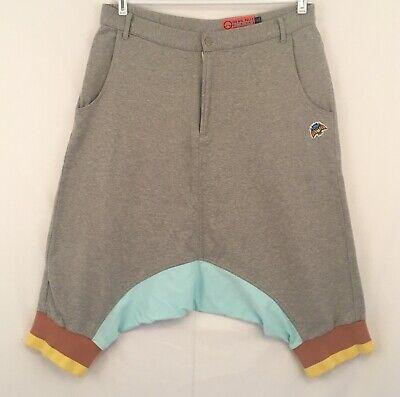 Rave Shorts Mens (Devil Nut Shorts Rave Festival Mens XL 37