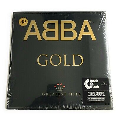 ABBA Gold LP 2 X Vinyl, 2014, POLAR  40th Anniversary 180 GR MADE IN EU SEALED