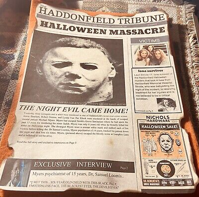 Michael Myers Halloween 1978 Print.