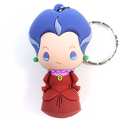 "Disney Villains Figural Keyring Series 2 LADY TREMAINE 3"" KEYCHAIN Blind Bag NEW"