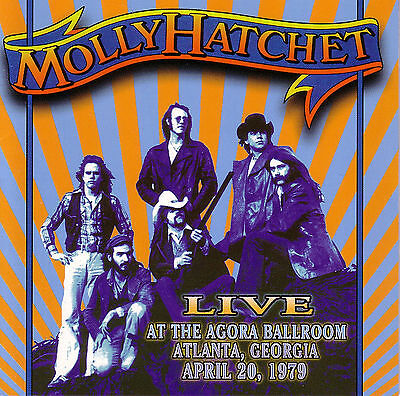 CD MOLLY HATCHET Live At The Agora Ballroom 1979 / Lynyrd Skynyrd Southern Rock ()
