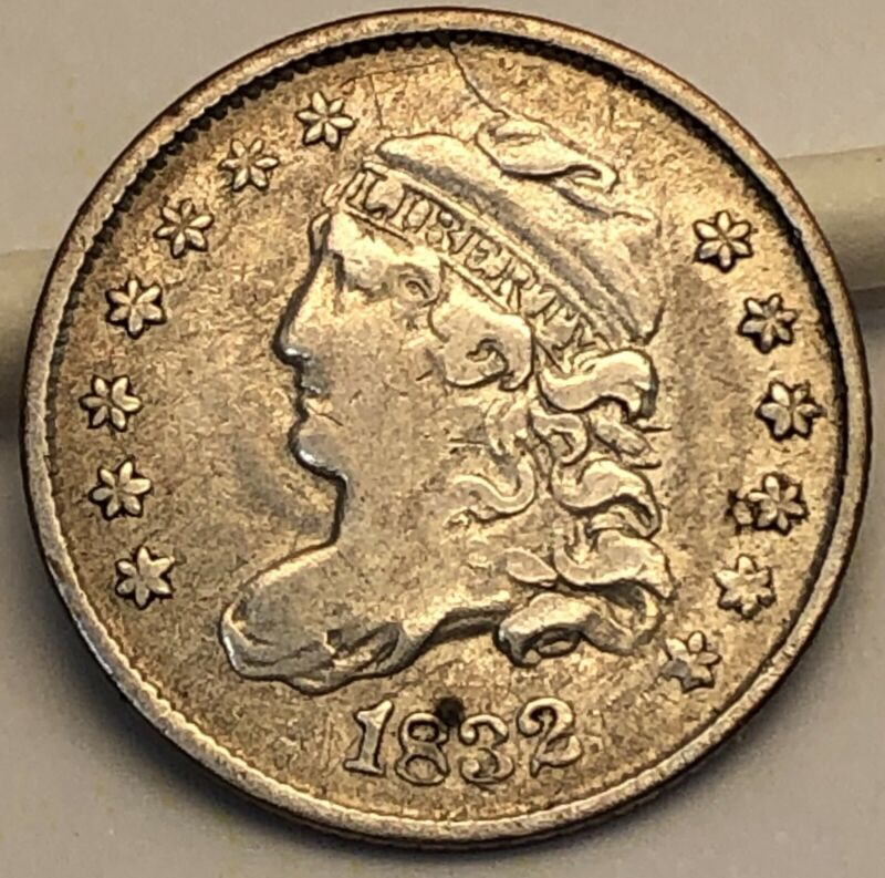 1832 Capped Bust Half Dime.