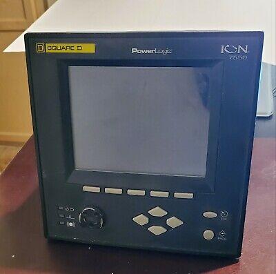 Square D Power Logic Meter Ion7550