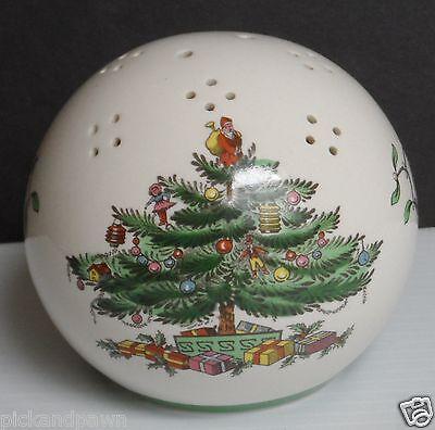 Spode Ivory Christmas Tree Pomander Potpourri Ball Ornament S3324