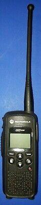 Mint Motorola Dtr550 Two-way Digital Business Radio Walkie Talkie Portable