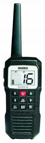 Uniden Atlantis 155 Handheld Floating VHF Marine Radio Boat 2-Way Waterproof