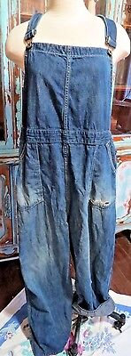 Collectable Vintage 1930s Womans/Mens XL Overalls