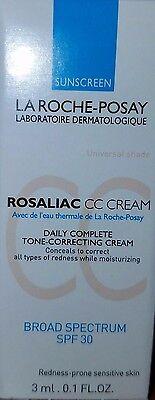 La Roche-Posay SPF 30 Rosaliac CC Cream: MEGA SIZED & EXTRA PRODUCT!!!! (2.0 OZ)