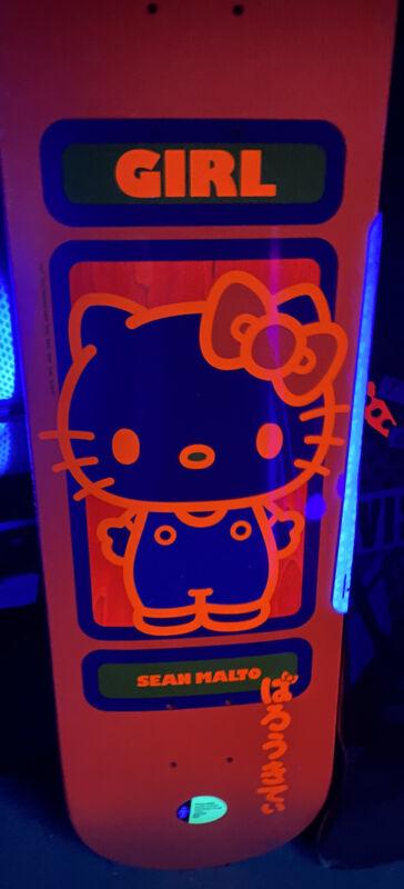 Girl x Sanrio Sean Malto Hello Kitty 60 Year Anniversary Skateboard Deck 8.0