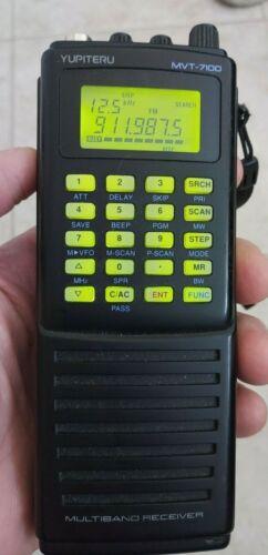 YUPITERU MVT-7100 Hand Held Receiver Scanner 530KHz-1650MHz Excellent Condition