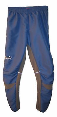 Swix cross country ski pants women's size M Medium nordic skiing blue