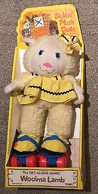 Vintage 1984 The Get Along Gang Woolma Lamb Toy New In Box