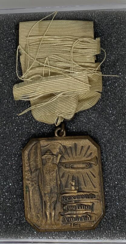 1932 Boy Scouts Rexcraft Bugling Award Named (g-1)