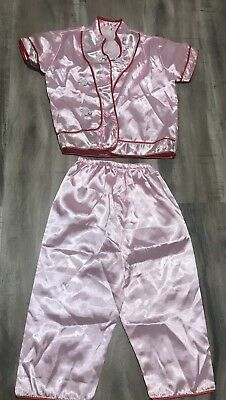 Chinese Girl Halloween Costume (Girls Pink Chinese New Year Outfit/ Asain  Costume/Halloween)