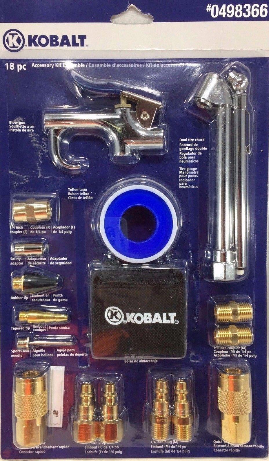 Kobalt 18-piece Air Compressor Accessory Kit Ensemble