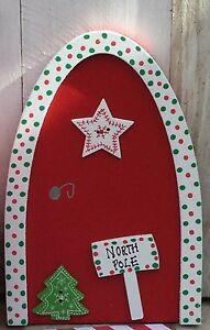 Christmas Elf Door For naughty Christmas elf Prop