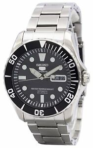 Seiko Automatic Divers 23 Jewels 100m SNZF17K1 Men's Watch