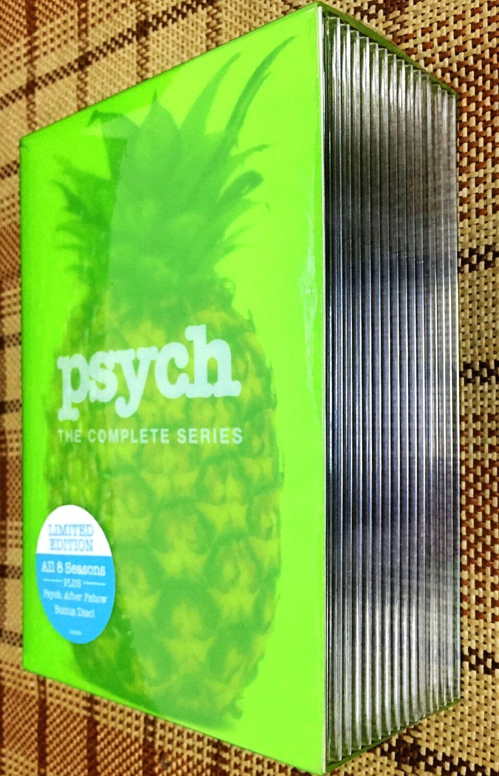 Купить PSYCH: The Complete Series Season 1-8 (DVD, 2014,31-Disc Set) Brand New!!