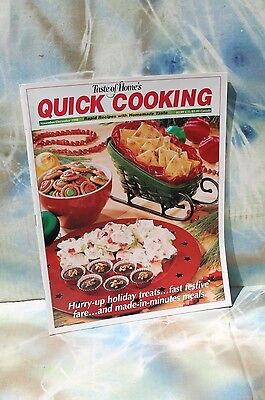 -  Taste of Home QUICK Cooking Magazine Nov / Dec 1998 FREE SHIPPING!