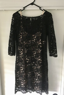 Portmans size 12 black cocktail dress