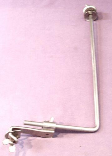 Beautiful 1920-40s hoop mounted clamp-on cymbal unit