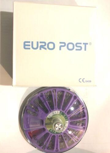 Dental Titanium Euro Post Screw Post ARTHOGYR 120pcs kit